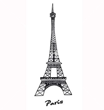 Free eiffel tower vector - бесплатный vector #217627