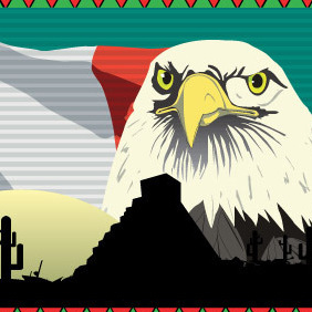 Mexican Background - Free vector #218007
