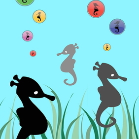 Seahorse Vector Collection - Kostenloses vector #218547