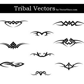 Tribal Vector Designs - Free vector #218957