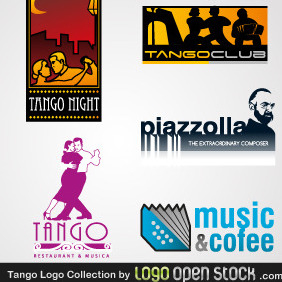 Tango Logo Collection - vector #219277 gratis