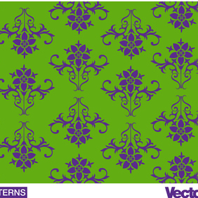 Decorative Wallpaper Pattern - Free vector #219527