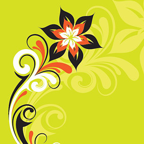 Stylized Plant - Kostenloses vector #219667
