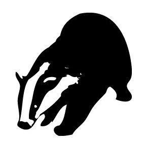 Badger Silhouette - Free vector #219767