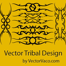 Tribal Vector Arts - Free vector #219817