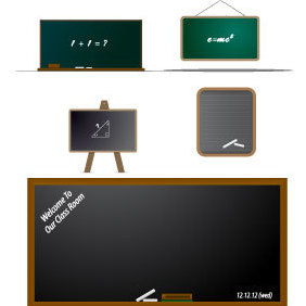 Vector Blackboard - бесплатный vector #220247