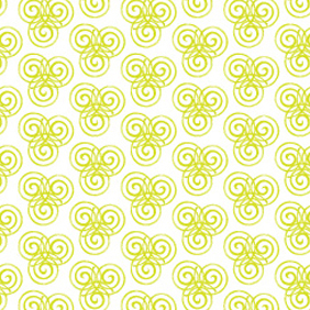 Green Swirl Pattern - vector #220287 gratis