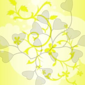 Colorful Flowers Yellow - vector gratuit #220597