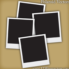 Polaroid Vectors - бесплатный vector #220707