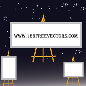 Billboard Vector - vector #220747 gratis