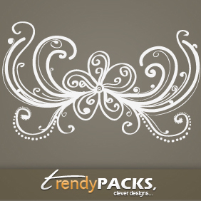Free Hand Drawn Vector Ornaments - Kostenloses vector #220777