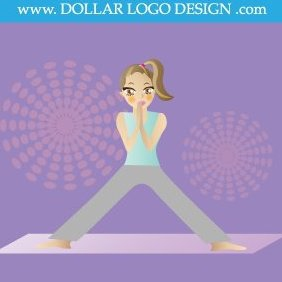 Yoga Girl Instructor - vector gratuit #220787