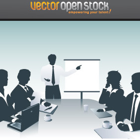 Business Presentation - vector gratuit #220807