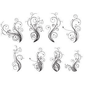 Free Vector Flourishes - vector gratuit #220897