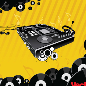 Free Music & Nightlife Design - vector gratuit #221047