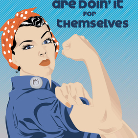 Sisters Can Do It - Free vector #221167
