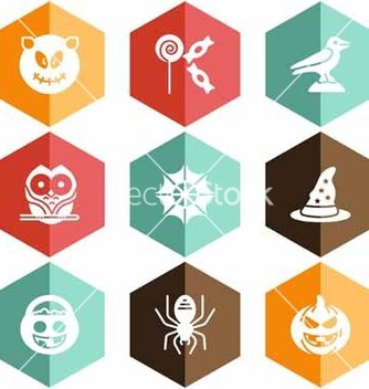 Free solid icons halloween celebration vector - Free vector #221527