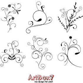 Foliages By ArtBox7.com - vector gratuit #222037