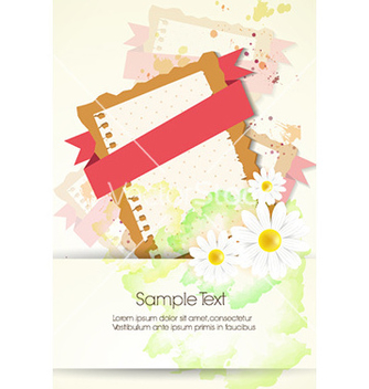 Free floral background vector - vector #222047 gratis
