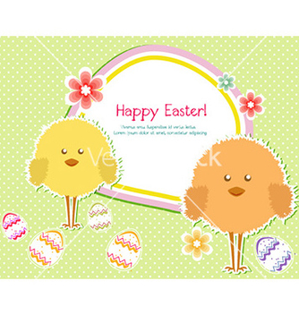 Free easter background vector - Kostenloses vector #222167