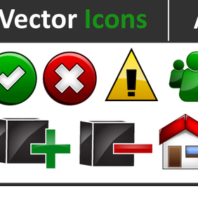 Adobe 4 Less Free Vector Icons - vector #222237 gratis