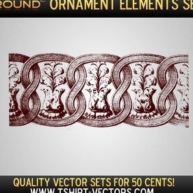 Ornaments Sample Set - Free vector #222287