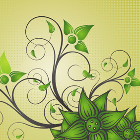 Beautiful Flower - vector #222457 gratis