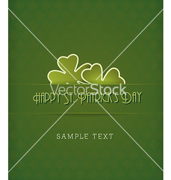 Free st patricks day vector - бесплатный vector #222587
