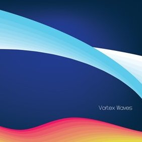 Vortex Waves Vector Graphic - бесплатный vector #222737