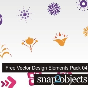 Free Vector Design Elements Pack 04 - Free vector #222837
