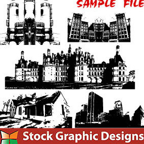 Building Series - vector #222847 gratis
