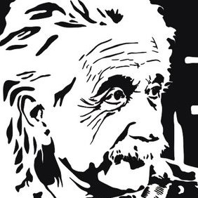 Albert Einstein - vector #222857 gratis