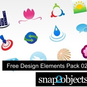 Free Vector Design Elements Pack 02 - vector gratuit #222917