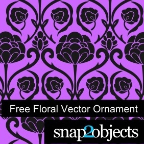 Free Floral Vector Ornament - Free vector #222947