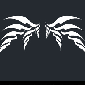 Tribal Wings - vector gratuit #222957
