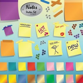 Notes - vector #223037 gratis