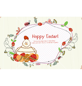 Free easter frame vector - Free vector #223117