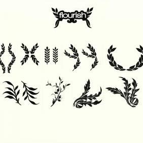 Tallum Vectors Flourish - Free vector #223157