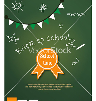 Free back to school vector - vector gratuit #223177
