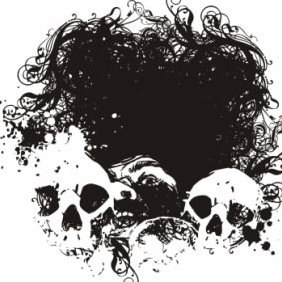 Fear Grunge Vector Illustration - Kostenloses vector #223687