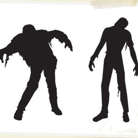 Vector Zombies Halloween - Kostenloses vector #223847