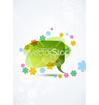 Free spring frame with floral vector - Free vector #224007