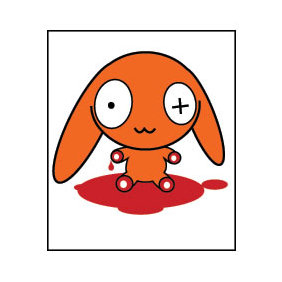 Bloody Dog Vector 2 - Free vector #224077