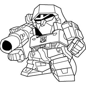 Megatron Deformed - Free vector #224107