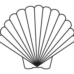 Scallop Shell - Free vector #224127