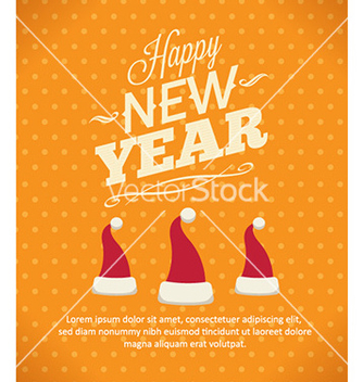 Free happy new year vector - vector #224437 gratis