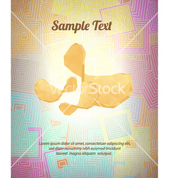 Free with abstract background vector - Free vector #224897