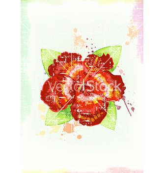 Free watercolor floral background vector - бесплатный vector #224927