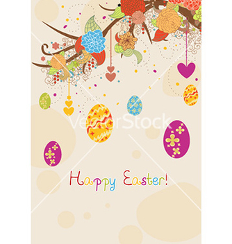 Free easter background vector - бесплатный vector #224967