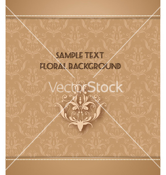Free floral background vector - vector #225057 gratis